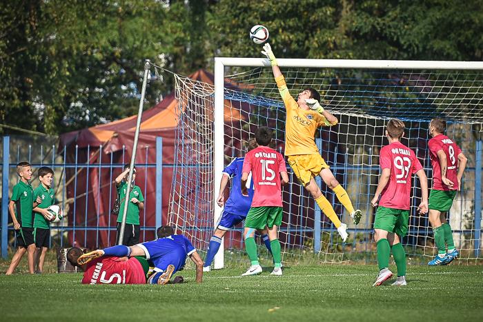 Скала и Кремень разошлись миром, фото Б.Зайца, fcskala.com.ua