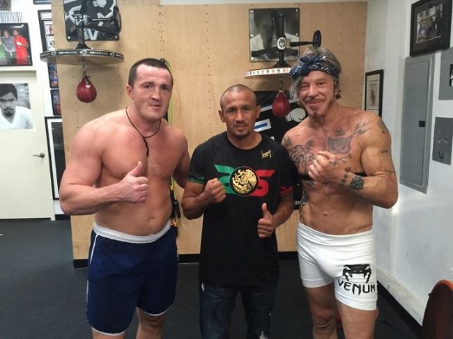 Лебедев, Салидо и Рурк, boxingscene.com