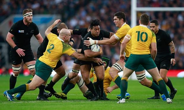 Игроков Новой Зеландии встречали сразу несколько оппонентов, Getty Images