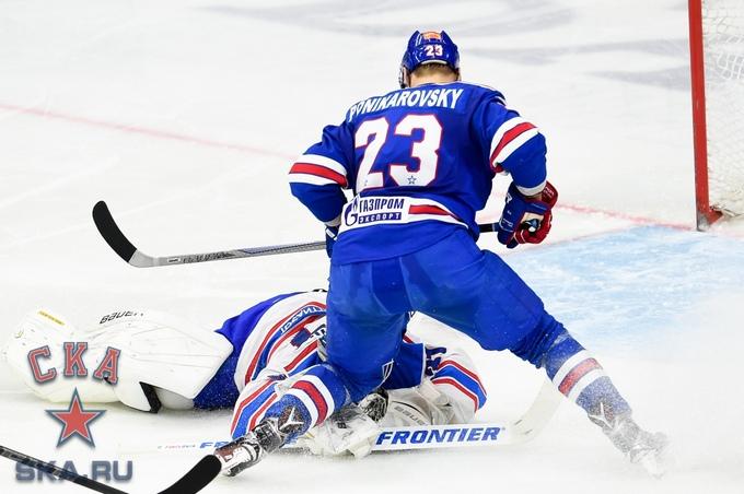 Алексей Поникаровский, фото ХК СКА