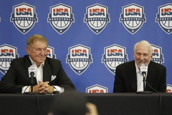 Джерри Коланджело и Грегг Попович, фото Getty Images