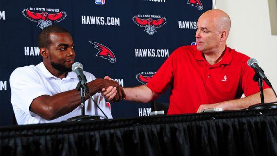 Дэнни Ферри и Пол Миллсэп, фото Getty Images