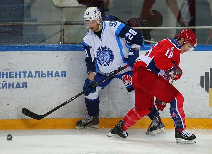 Александр Матерухин, фото ХК Динамо Минск