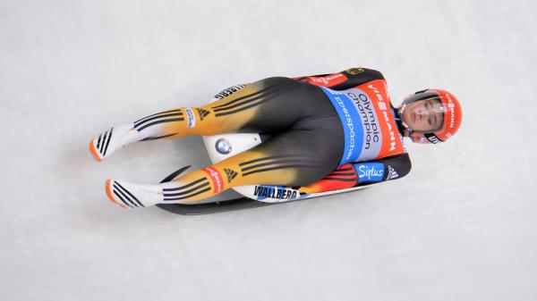 Немка Дайяна Антбергер установила рекорд трассы в Инсбруке в своей дебютной попытке сезона, Getty Images