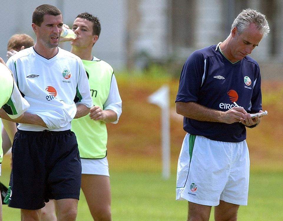Рой Кин и Мик Маккарти, Daily Mail