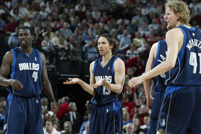 Финли, Нэш и Новицки, фото AP