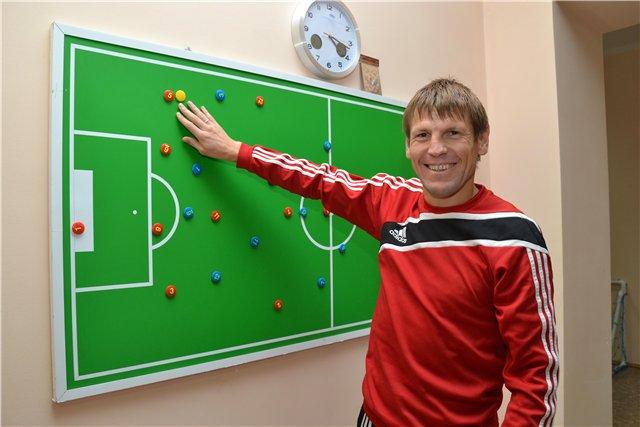 Петро Бадло почав ігрову і тренерську кар'єру якраз на рідній Тернопільщині, фото Андрія Кучерука