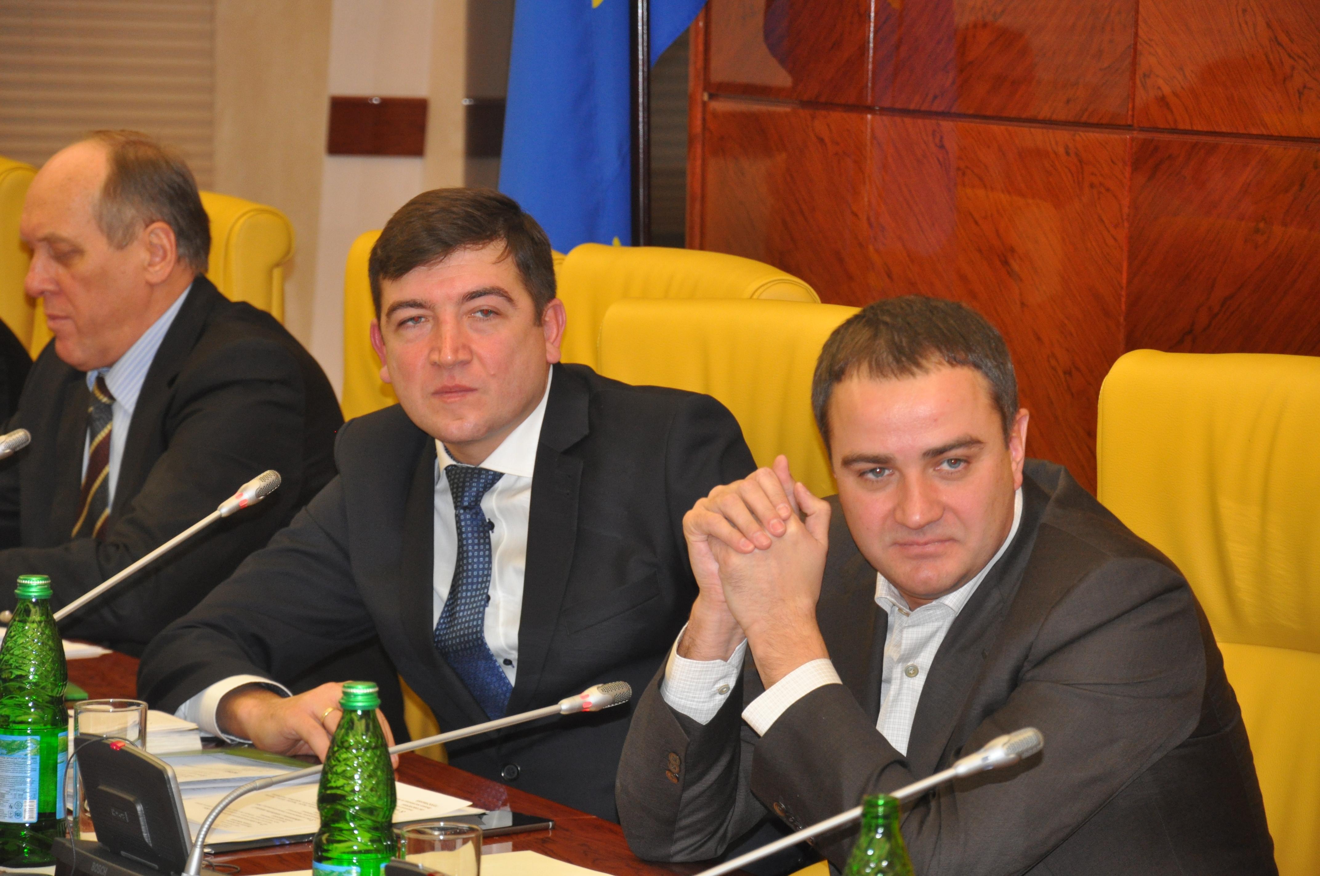 Сергій Макаров та Андрій Павелко