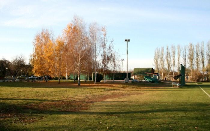 Территория внутри базы