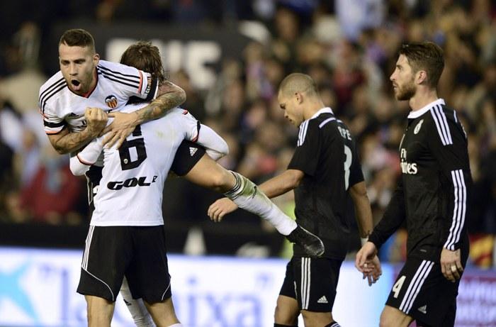 Валенсия разрывает Мадрид, diariochaco.com