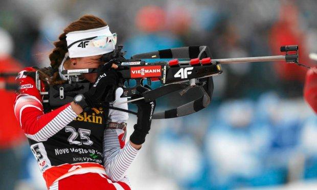 В прошлом сезоне Монике Хойниш удалось улучшить свои результаты благодаря хорошей стрельбе, gazeta.pl