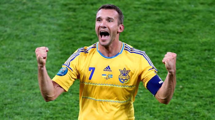 Как Украина на Евро стартовала: дубль Шевченко и добротный матч против Германии