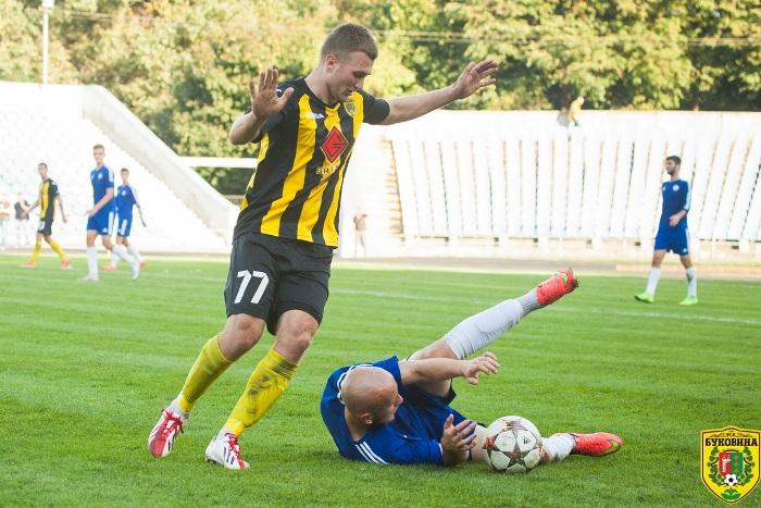 Главная надежда в атаке – Палагнюк – выбыл из-за травмы уже после двух классных матчей, фото fcbukovyna.com