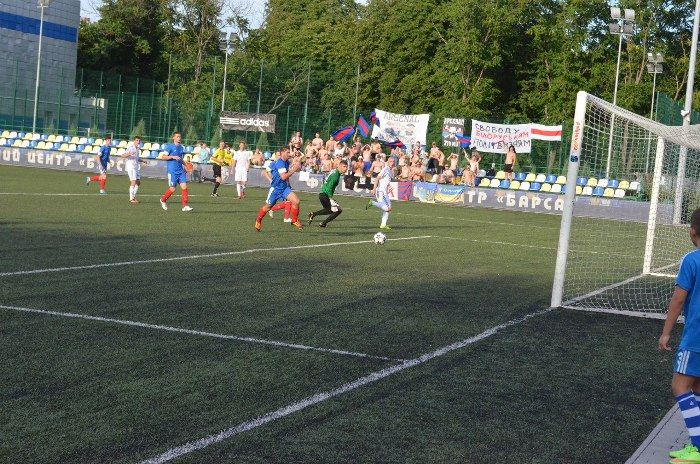 Тот самый гол Коровикова столичному Арсеналу, фото fcbarsa.com.ua
