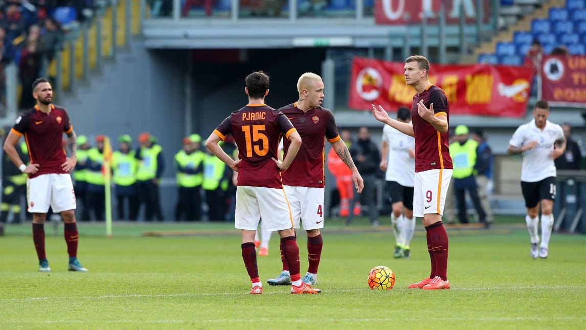 Рома на этот раз не забила, но продолжает лидировать по количеству голов. Фото Bartoletti