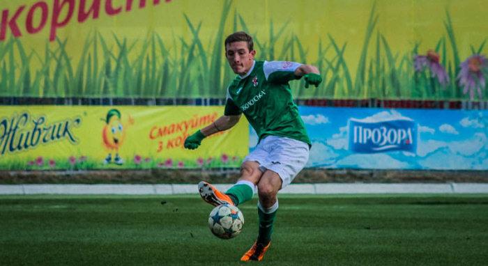 Фаворов – лучший бомбардир полугодия во второй лиге, фото Н.Михайлова, fcbrovar.obolon.ua