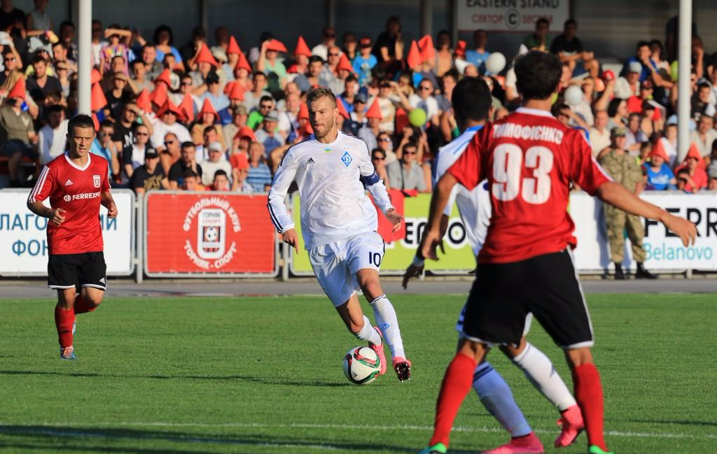 Ярмоленко оказался причастен ко всем шести голам в ворота комсомольчан в кубке, фото А.Куцана, fcdynamo.kiev.ua