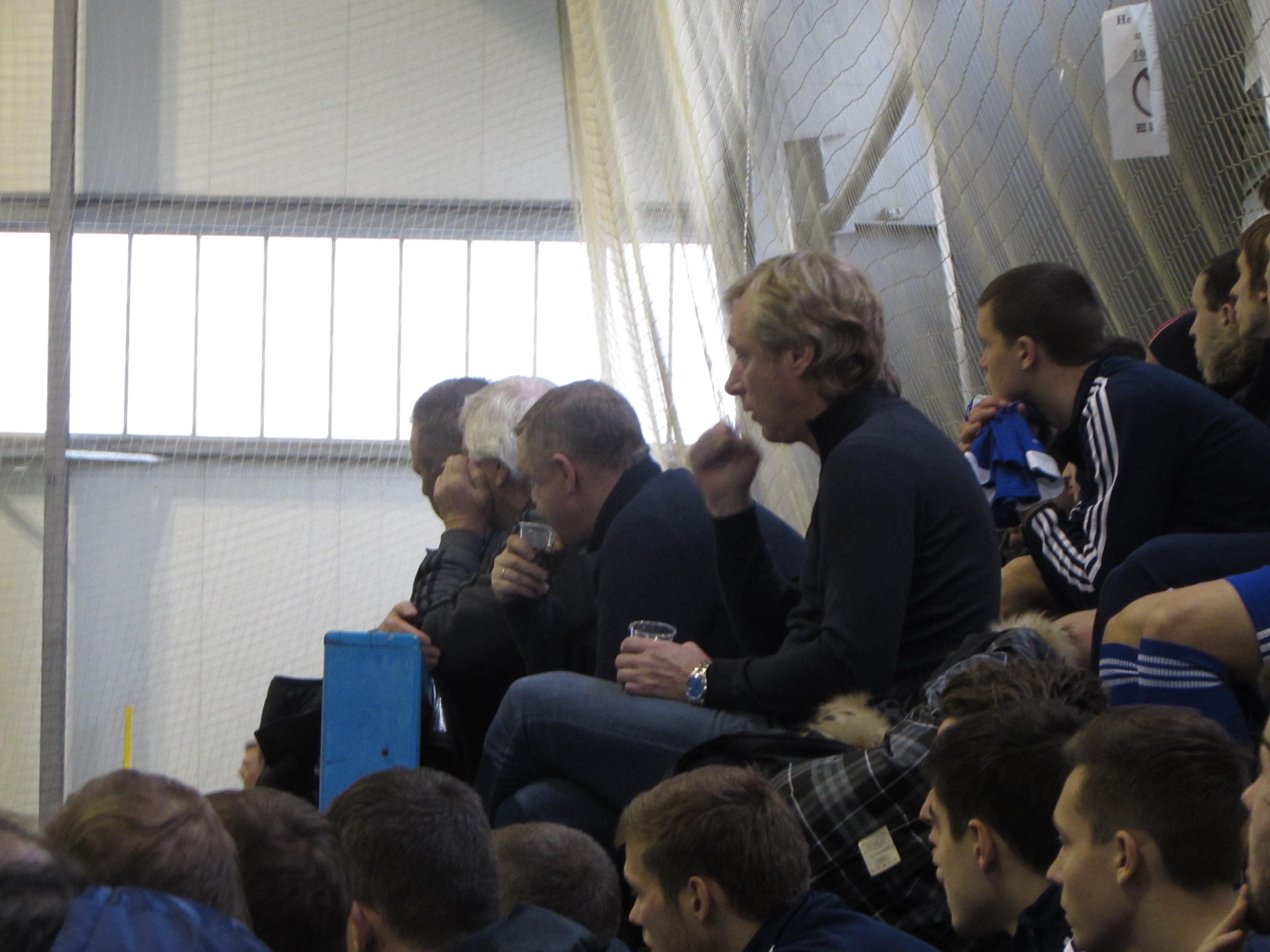Динамовский бомонд: Михайличенко, Бессонов, Мунтян, Ищенко, фото Артура Валерко, Sport Arena