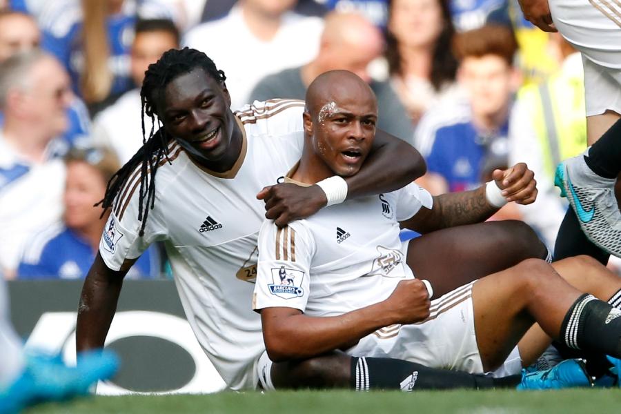 Бафетимби Гомис и Андре Айю, sports.fr