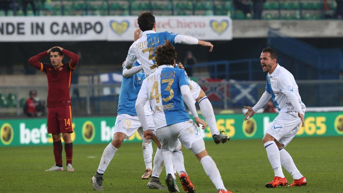 Летающие Ослы сыграли 500-й матч в Серии А. Фото ANSA