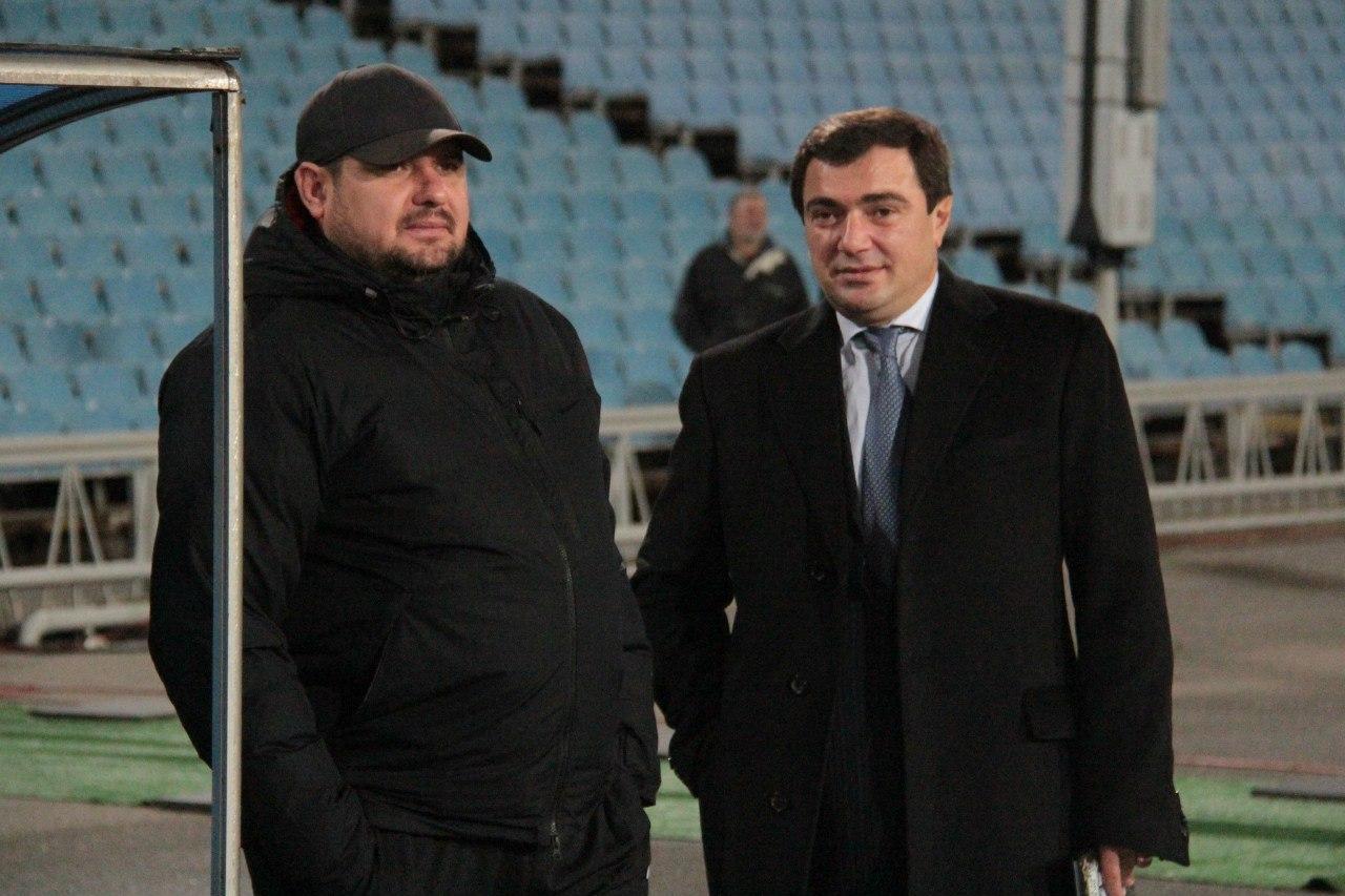 Владимир Мазяр и Вардан Исраелян, fcstal.com.ua