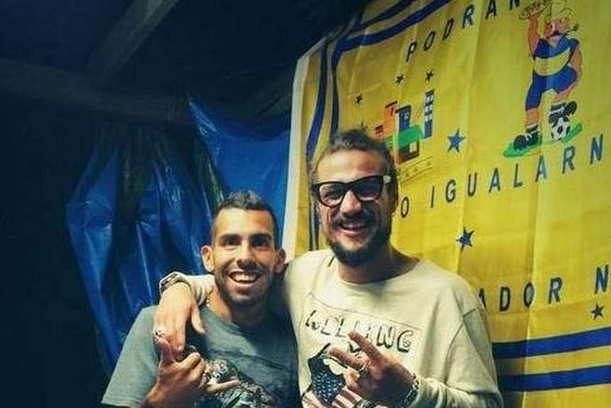 Карлос Тевес и Даниэль Освальдо