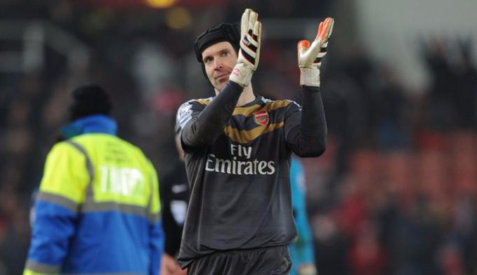 Петр Чех, twitter.com/Arsenal