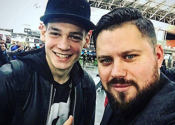 Артем Ярмоленко и его агент Александр Панков, Артем Ярмоленко, instagram.com