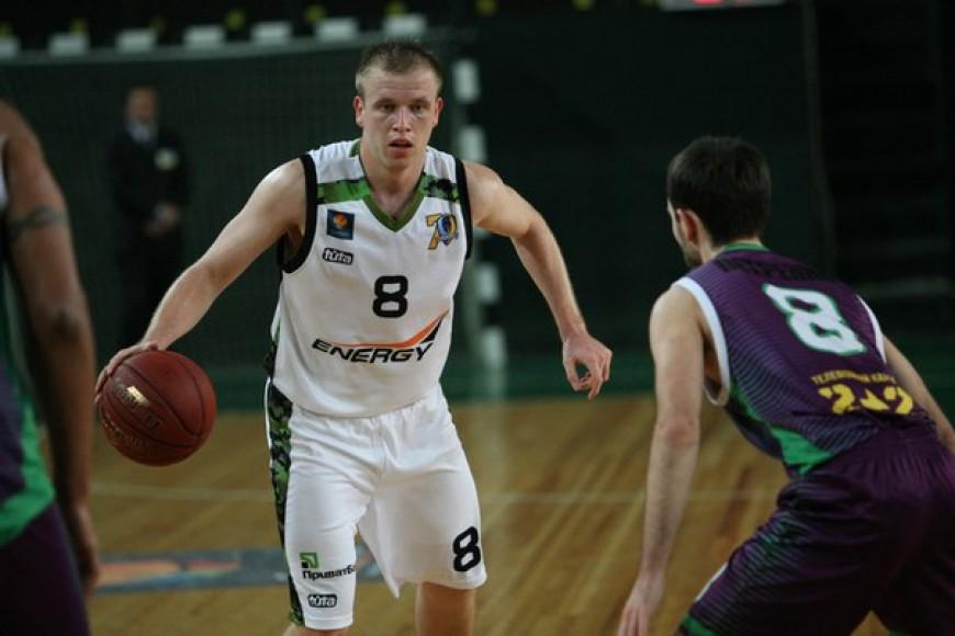 Максим Луценко, фото БК Будивельник