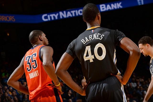 Дюрант и Барнс, фото: AP