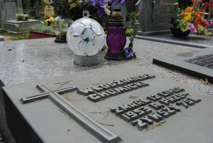 Могила Володимира Хомицького