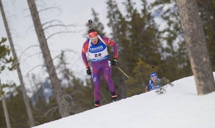 В Кэнморе Тим Бурк показал свой лучший результат сезона - седьмое место в масс-старье, Nordic Focus