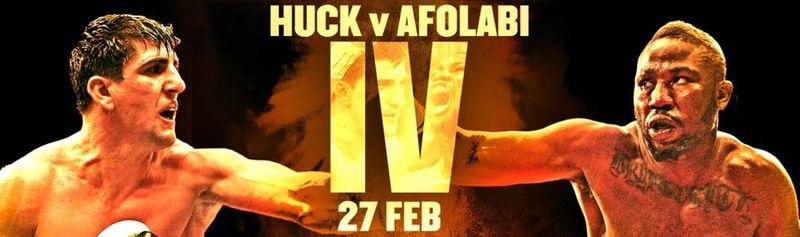 постер к бою Хук - Афолаби 4