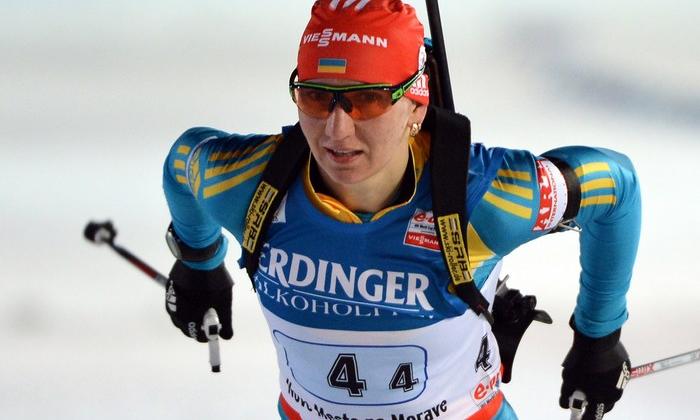 Биатлонистка изУдмуртии Ульяна Кайшева стартует в особой гонке наКубке мира