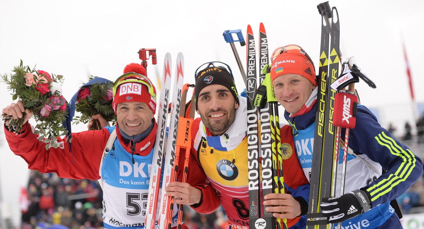 Призер спринтерской гонки - Сергей Семенов (справа), Zimbio