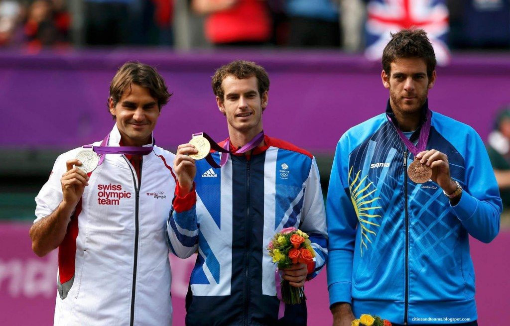Хуан Мартин дель Потро (справа), olympics.org
