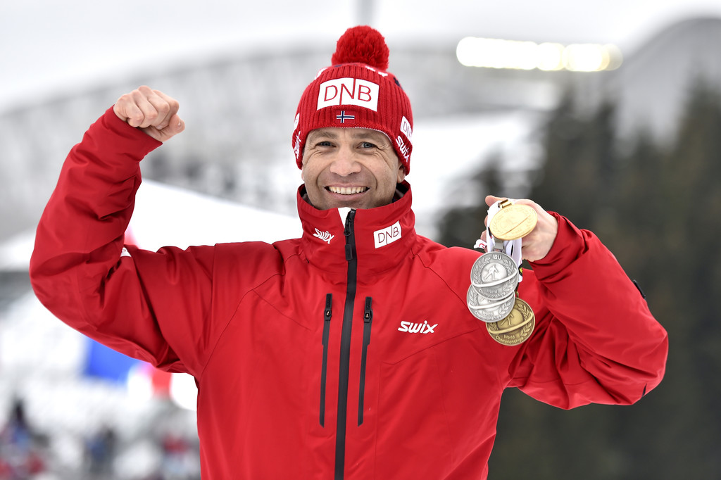 Оле Эйнар Бьорндален и его награды чемпионата мира-2016, Zimbio