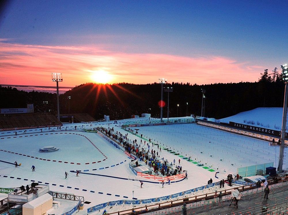 В ближайшие два сезона Ханты-Мансийск не будет принимать этап Кубка мира, biathlonworld.com
