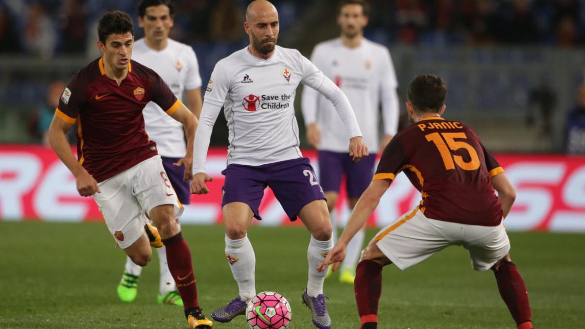 Фиорентина больше не единоличный лидер по владению мячом. Фото corrieredellosport.it