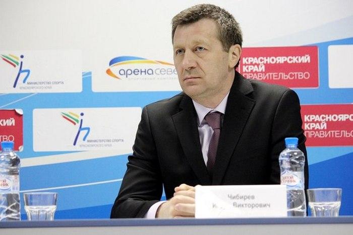 Игорь Чибирев, фото ХК Сокол Красноярск