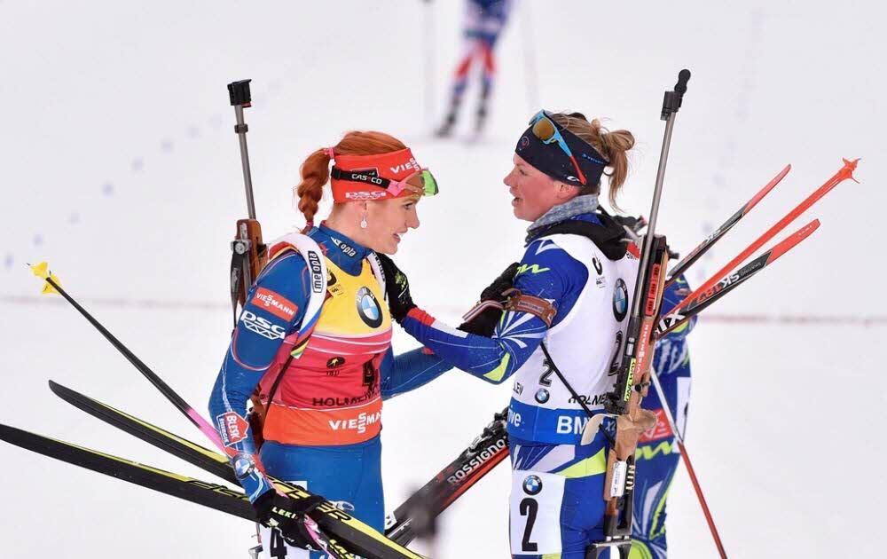 Кто станет победителем сезона: Габриэла Соукалова (слева) или Мари Дорэн Абер (справа)? Zimbio