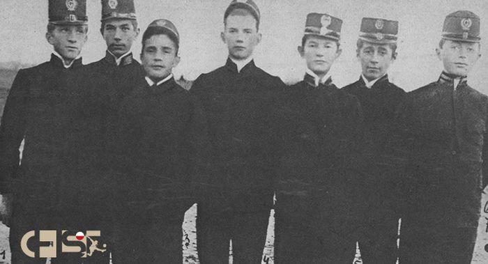 Засновники та члени клубу IV гімназії у 1904 р, historiasportu.eu