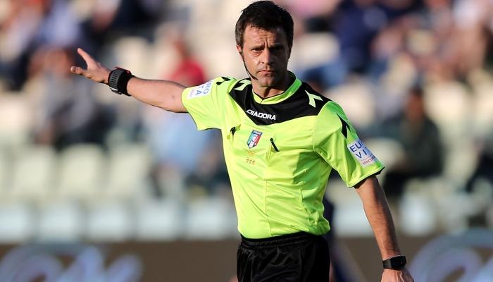 Лучший арбитр Евро: Риццоли