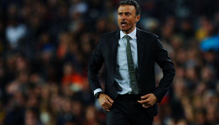 Луис Энрике: «Барселона не надеется на осечки конкурентов»