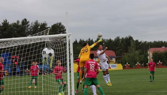 Вратарь стрыян Завгородний – один из немногих, так и не пропускавших от Колоса, фото koloskovalivka.com