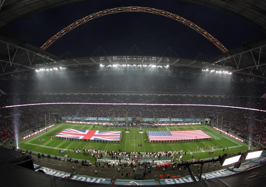 Кожного року матчі НФЛ збирають аншлаг на Вемблі, Getty Images