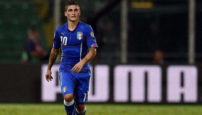 Верратти не поможет Италии в матчах против Уругвая и Лихтенштейна