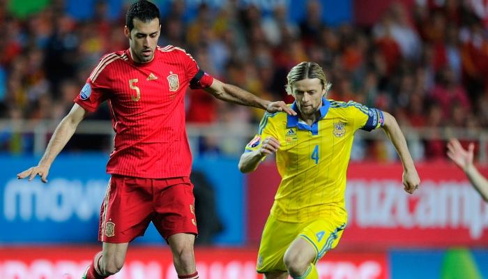 Тимощук— самый возрастной игрок вистории сборной Украины