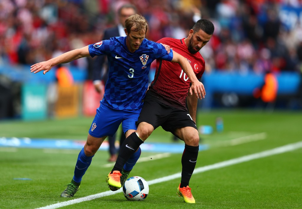 турция хорватия матч счет