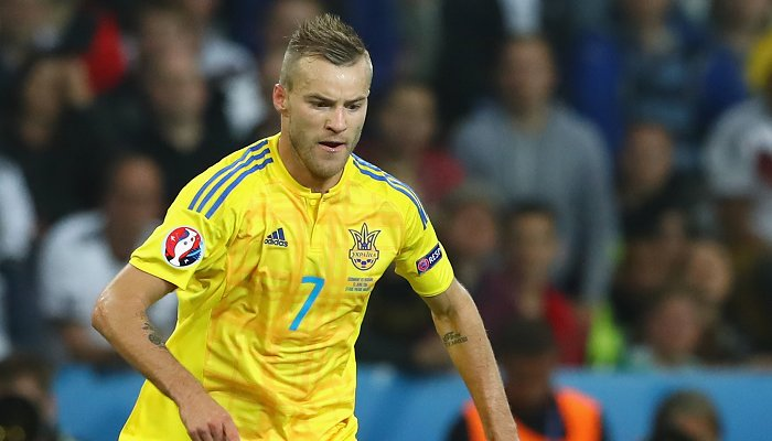 Ярмоленко забил за сборную Украины в третьем матче кряду